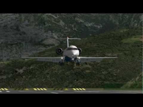 MiSO X-Plane Spain La Seu d'Urgell Airport