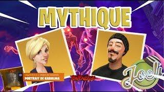 SURVIVANTS MYTHIQUE JOEL's / KAROLINA - FORTNITE - SAUVER LE MONDE -