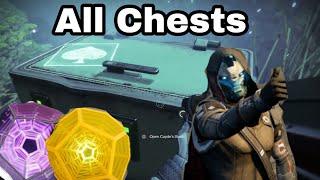 Destiny 2: All cayde-6 treasure chest Locations (7/17/18)
