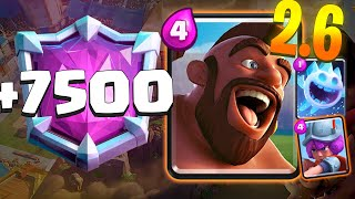 HOG 2.6 HIGH TROPHIES +7500 - CLASH ROYALE