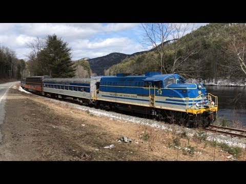Chasing the Last Saratoga & North Creek Excursion 4/7/18
