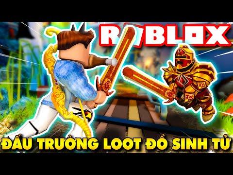 Roblox   CHIẾN BINH KIA CỐ SỐNG SÓT TRONG ĐẤU TRƯỜNG LOOT ĐỒ SINH TỬ - Loot Battlegrounds   KiA Phạm