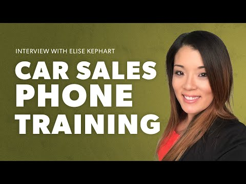 Phone Sales Techniques and Training with Elise Kephart
