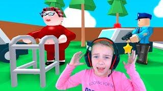ПОБЕГ от БАБУШКИ в Roblox ОБНОВЛЕНИЕ Видео для детей детская игра ПРО БАБУШКУ в Роблокс