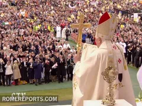 The Pope beatifies Cardinal John Henry Newman in Birmingham