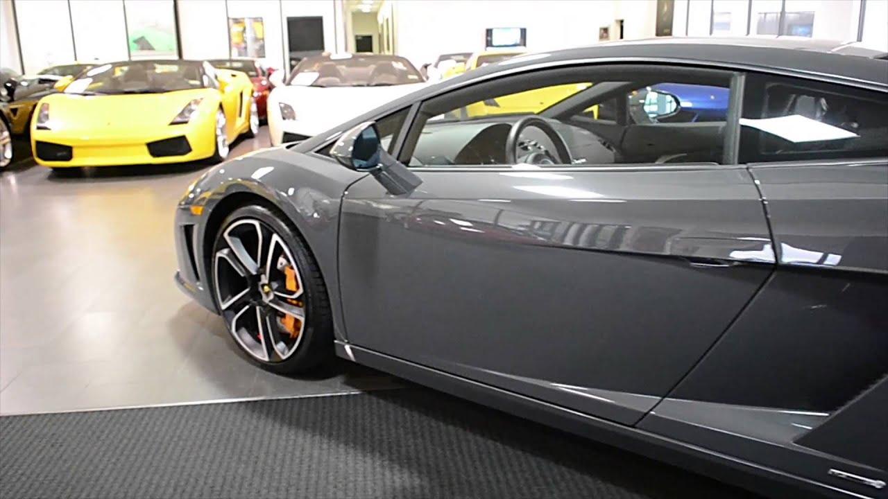 Get Free Carfax >> 2013 Lamborghini Gallardo LP560 4 Grigio Telesto DLA12934 - YouTube