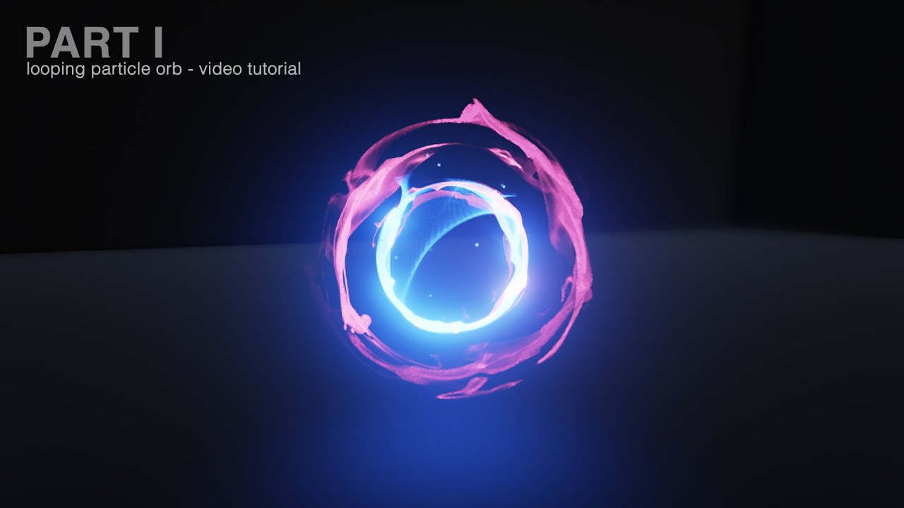 Looping Particle Orb - Video Tutorial Part 1 - YouTube