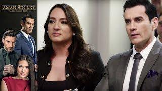 ¡Ricardo vence a Alejandra en su primer juicio! | Por Amar sin Ley  - Televisa