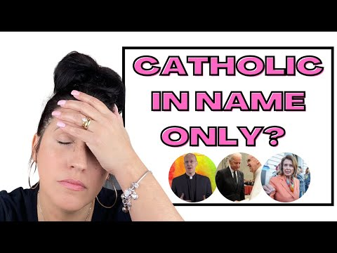 ARE YOU CATHOLIC IN NAME ONLY? | 🤷🏻‍♀️DO OUR WORDS & ACTIONS MATTER WHEN WE CLAIM TO BE CATHOLIC?