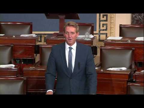 Sen. Flake Calls on Colleagues to Support  Bipartisan Legislation on Gun Rights
