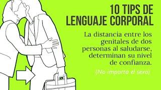 10 TIPS DE LENGUAJE CORPORAL 💗 PSICOLOGÍA