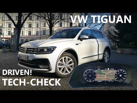ACTIVE INFO DISPLAY, ANDROID AUTO etc. | VW TIGUAN | DRIVEN!-TECH-CHECK