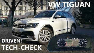 ACTIVE INFO DISPLAY, ANDROID AUTO etc. | VW TIGUAN | DRIVEN!-TECH-CHECK