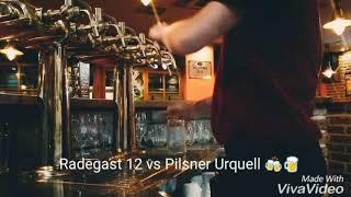 Pilsner Urquell vs Radegast 12 Hladinka