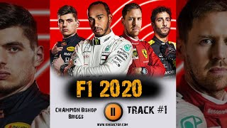 F1 2020 🎮  game races ➤ music from the trailer ➤ 2020 OST 1 CHAMPION Bishop Briggs
