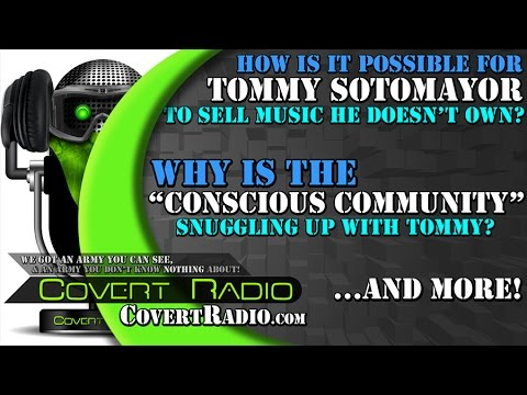 """Is Tommy Committing MAJOR COPYRIGHT INFRINGEMENT? Why is the """"CONSCIOUS COMMUNITY"""" Reaching for Him?"""