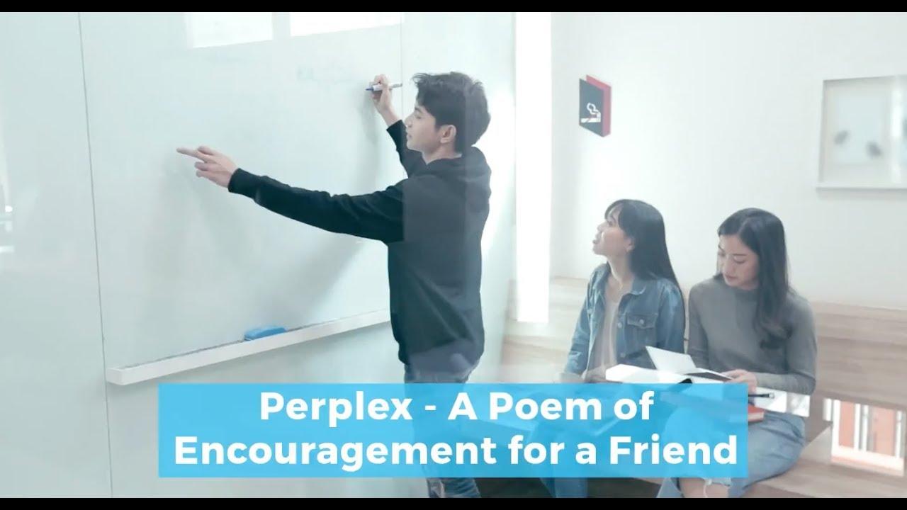 Encouragement Poems
