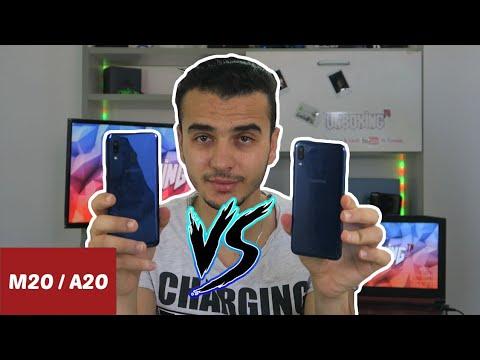 Face To Face Galaxy A20 Vs Galaxy M20