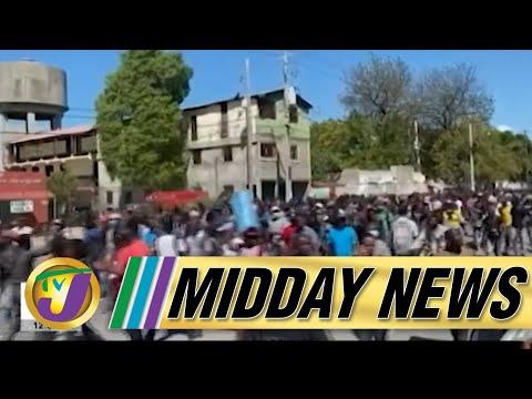 Intense Gun Battle in Haiti | Vaccination Struggle Continues in Jamaica - July 8 2021
