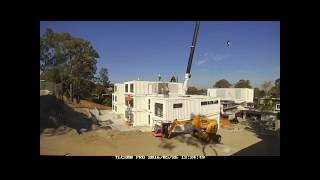 Container Home Time Lapse 1
