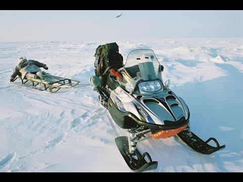 охота рыбалка экспедиция на снегоходах видео