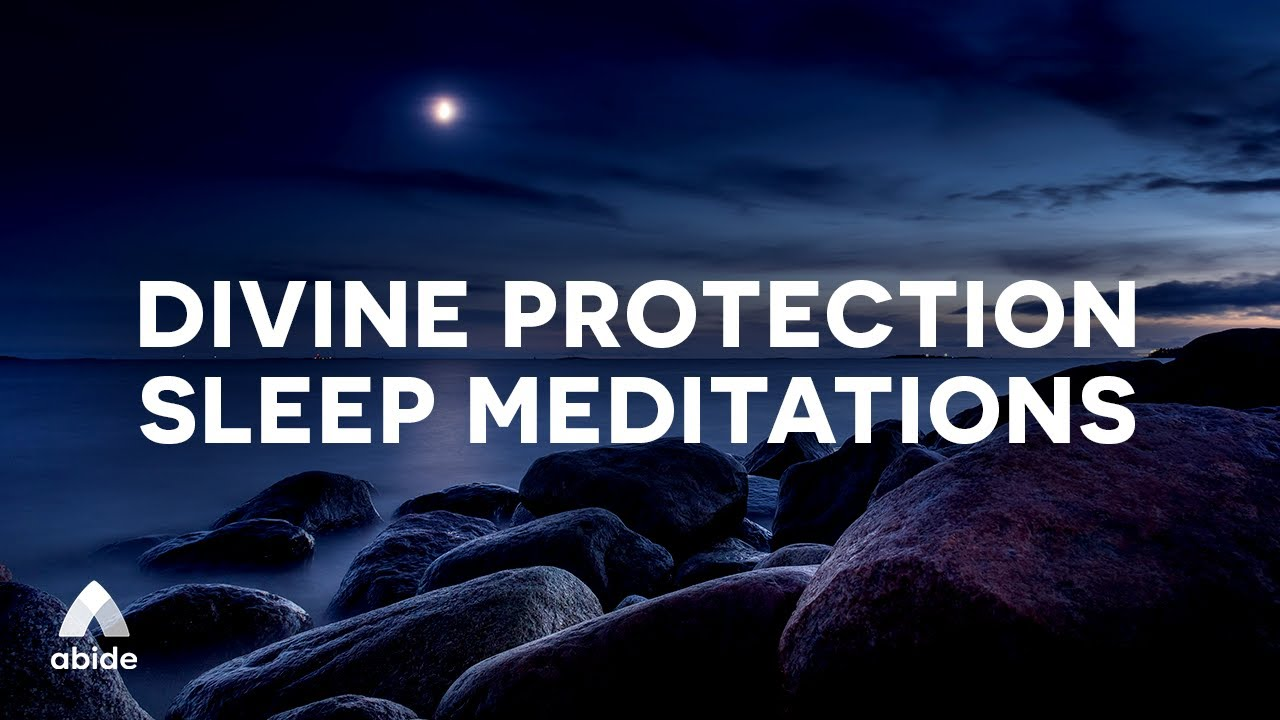 End Your Day With God 🙌 Bible Prayers & Meditations For Divine Protection as You Sleep + OCEAN MUSIC