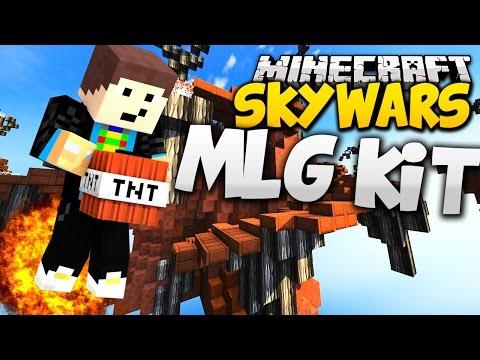 NEUES MLG KIT! MLGOMME :D - Minecraft SKYWARS #44