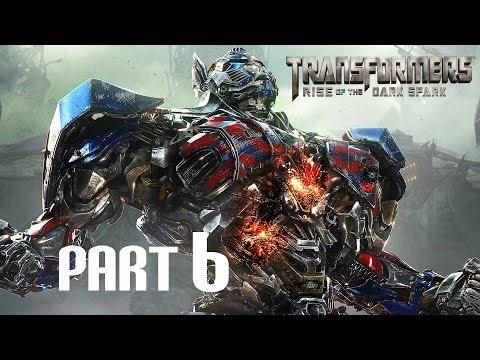 Transformers: Rise of the Dark Spark - Gameplay Walkthrough - Part 6 - Jetfire