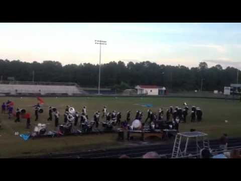 South Brunswick high school marching band 2012-2013 When We Left Earth