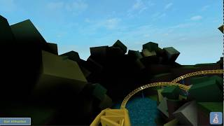 Universal Studios Roblox - Stu's Disco Coaster - First Row POV