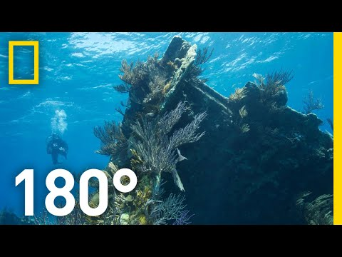 Underwater on Bermudas Montana Shipwreck  180 | National Geographic