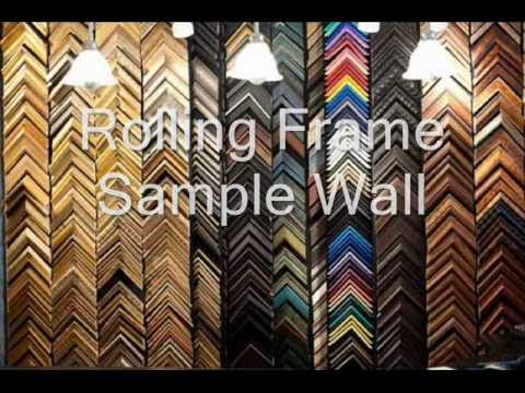 Custom Frame Shop Equipment For Sale - YouTube