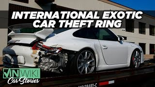 I busted a ring of exotic car thieves