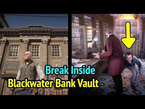 Break In Blackwater Bank Vault in Red Dead Redemption 2 (RDR2): West Elizabeth Co-Operative Bank thumbnail