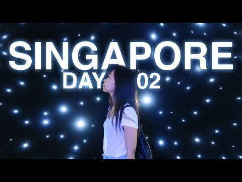 Singapore Day 02 ● Largest Light Bulb Display in an Indoor Venue