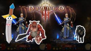Diablo 3 HOW TO GET BUTCHER PET AND ROYAL CALF PET