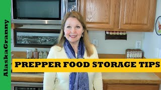 Prepper Food Storage Tips Emergency Food Storage for Beginners