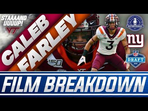 New York Giants   Virginia Tech CB- Caleb Farley Film Breakdown Premiere
