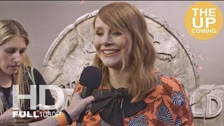 Bryce Dallas Howard interview at Jurassic World: Fallen Kingdom premiere