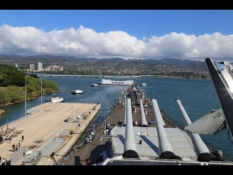 "The U.S.S. Missouri ""Mighty Mo"" Museum at Pearl Harbor"