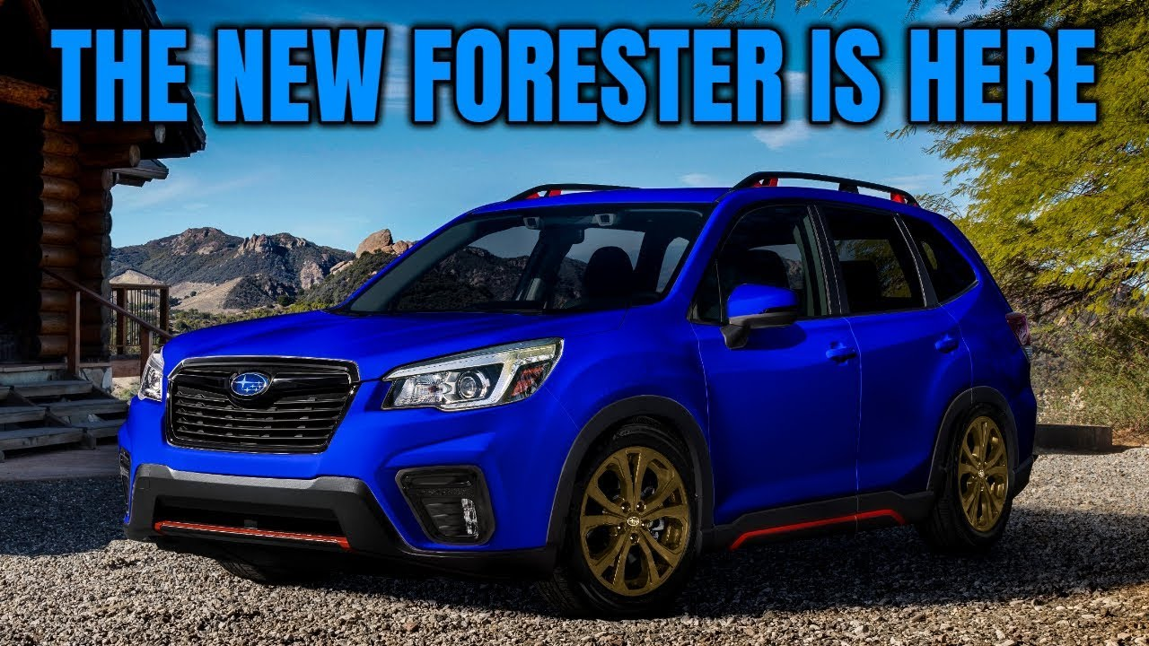 details 2019 subaru forester sport driving interior exterior