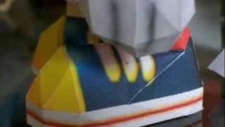 Conker Papercraft Detail