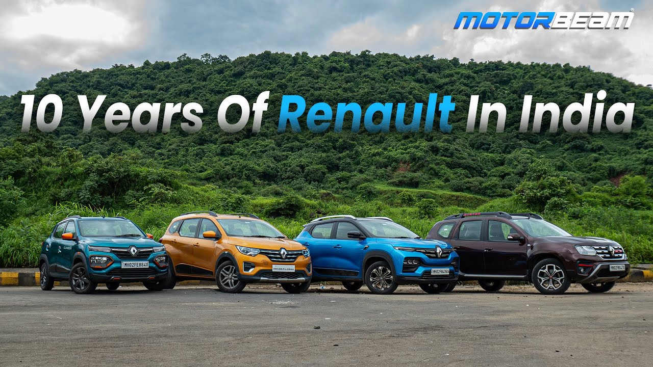 Download Renault Completes 10 Years In India! - Special Feature | MotorBeam