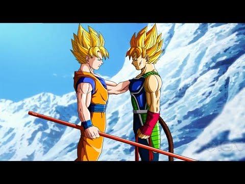 Elder Goku meets bardock-Dragon ball super movie Broly