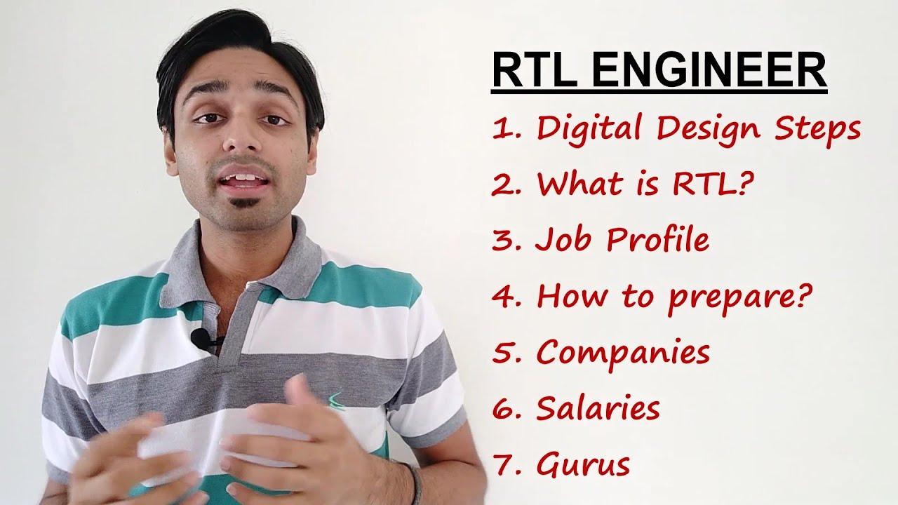 Rtl Design Engineer Job Opportunities In Electronics Part 5 Youtube