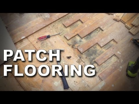 How to Patch Hardwood Floor | Every Step