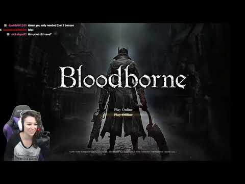 BloodBorne Part 1: Seymour Butts and Cleric Beast