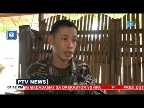 Isang miyembro ng NPA sa Davao Oriental, sumuko