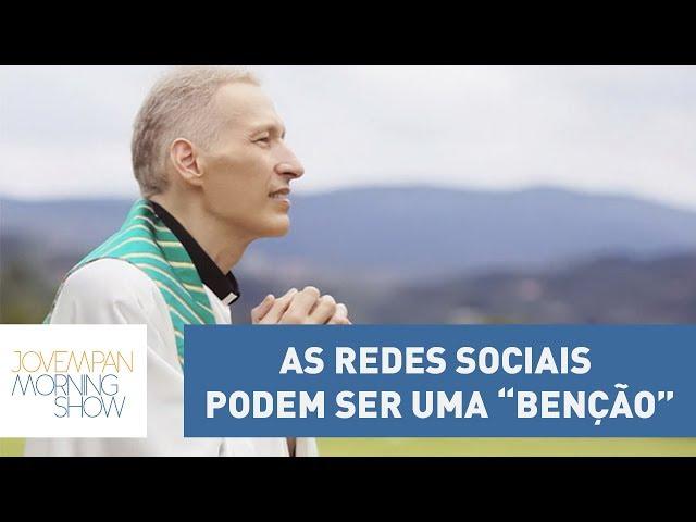 """Para Padre Marcelo Rossi, as redes sociais podem ser uma """"benção""""; entenda"""