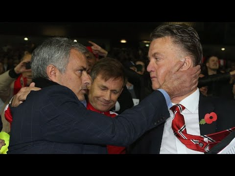 Ex-Manchester United boss Van Gaal 'not disappointed' in Mourinho